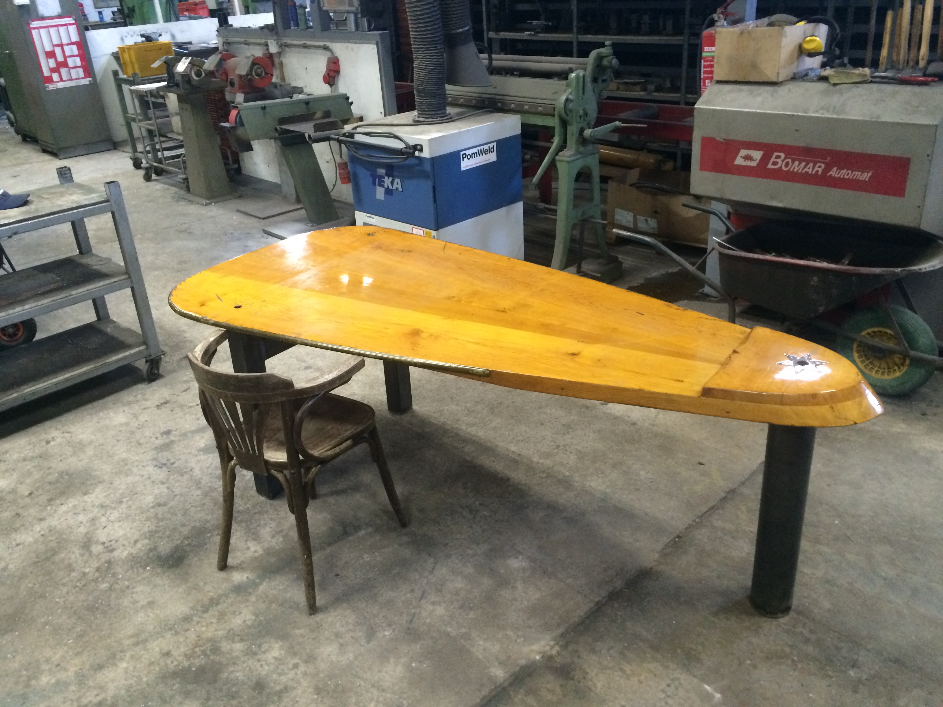 zwaard tafel